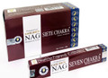 Golden Nag 7 Chakra Incense (15 grams)