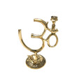Brass Om Incense/cone Burner