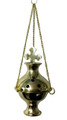 Brass Hanging Burner, Cross
