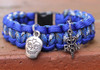 Create Your Own Paracord Bracelet (Choose your colors and charm)
