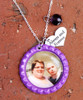 Bottle Cap Photo Necklace
