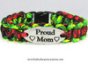 """Proud Mom"" Charm Tag Bracelet (226)"