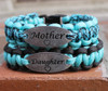 Mother & Daughter Charm Tag Bracelet Set