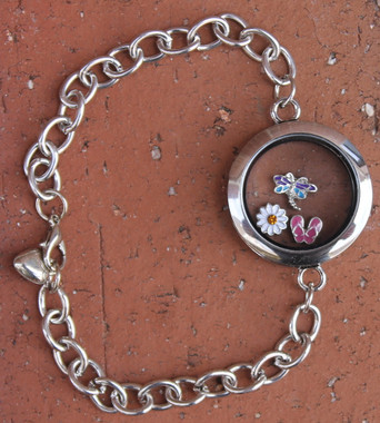 Floating Charm Bracelet (Choose your charms)