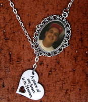 Memorial Photo Necklace (Oval)