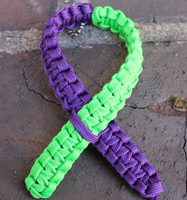 Awareness Ribbon Key Chain (Choose your colors)