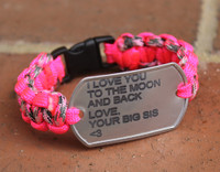 Dog Tag Paracord Bracelet