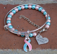 Pregnancy and Infant Loss Stacking Bracelets