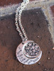 """""""I Love You to the Moon and Back"""" Night Sky Necklace"""