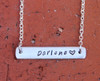 Stamped Personalized Name Necklace