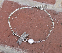 Dragonfly Anklet