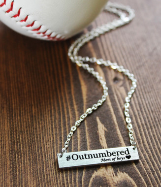 """#Outnumbered"" Necklace"