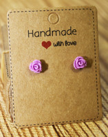 Flower Studs (Choose your color)
