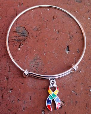 Awareness Ribbon Bracelet