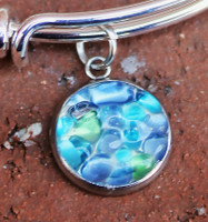 Add a Sea Glass Charm