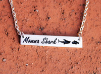 Momma Shark Necklace