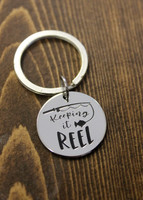 """Keeping it Reel"" Key Chain"