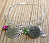 """""""Wicked"""" Sisters/Best Friends Bangle Set"""