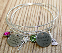 """Wicked"" Sisters/Best Friends Bangle Set"