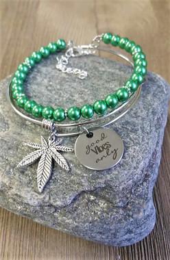 Good Vibes Marijuana Bracelet