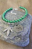 Good Vibes Marijuana Bracelet