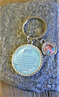 Definition of Aunt Key chain