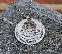 Family Tree Layer Necklace