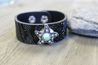 Leather Bracelet - Starfish