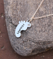 Baby Foot Necklace
