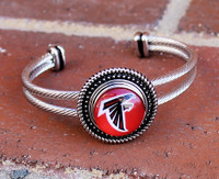 "NFL ""Atlanta Falcons"" Snap Bracelet"