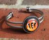 """NFL """"Cincinnati Bengals"""" Snap Bracelet"""