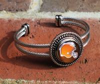 """NFL """"Cleveland Browns"""" Snap Bracelet"""