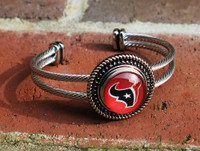 "NFL ""Houston Texans"" Snap Bracelet"