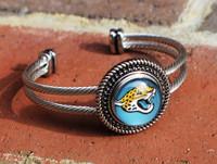 """NFL """"Jacksonville Jaguars"""" Snap Bracelet"""