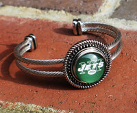 "NFL ""New York Jets"" Snap Bracelet"