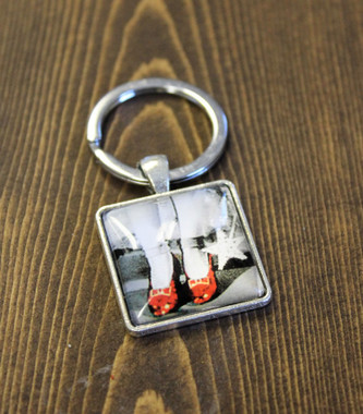 Ruby Slippers Key Chain