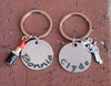 """Bonnie and Clyde"" Key Chain Set"