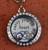"""Son"" - ""I carry you in my heart"" Floating Charm Locket"