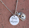 """Boy Mom"" Necklace"