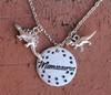 """Mamasaurus"" Dinosaur Necklace"