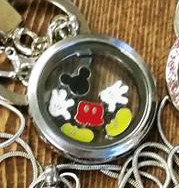 Cartoon Mouse Locket