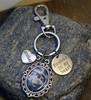 Memorial Photo Key Chain (Choose you Charms)