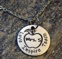 Teacher Appreciation Gift Necklace