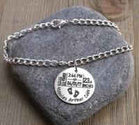 Birth Stats - Chain Bracelet