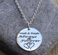 Always & Forever - Engraved Necklace