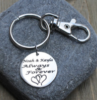 Always & Forever - Engraved Key Chain