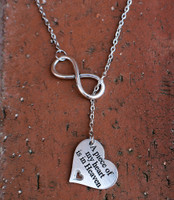 Memorial Infinity Necklace
