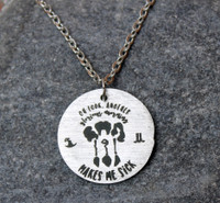 """""""Another glorious morning"""" Necklace"""