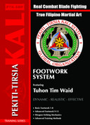 DVD101A - DVD Set 1-2-3 &7 Footwork System, Sword and Impact Weapons, Solo Daga-Knife, Empty Hands v Knife