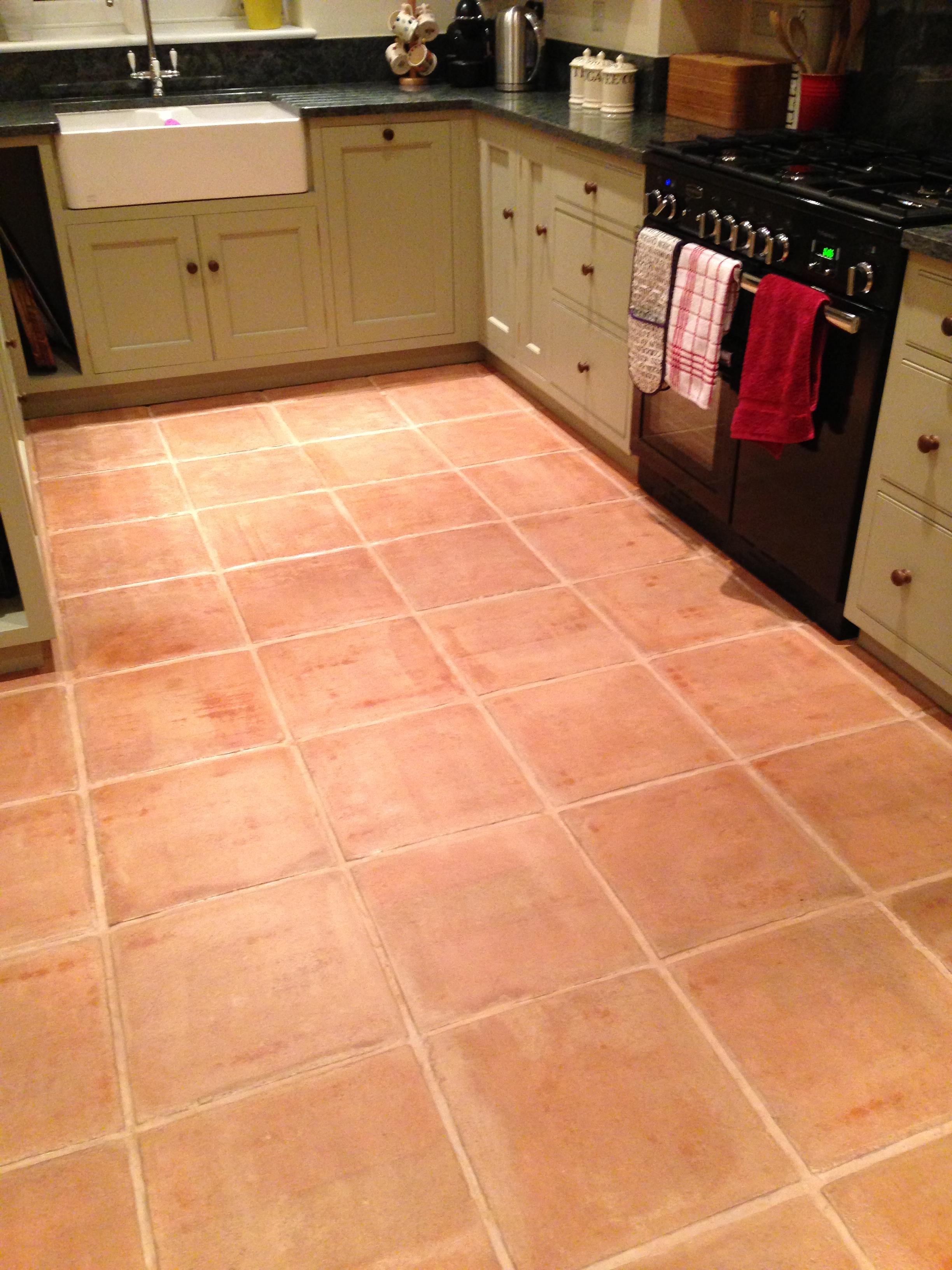 Kitchen Ideas Ealing Large Terracotta Floor Tiles Tile Design Ideas